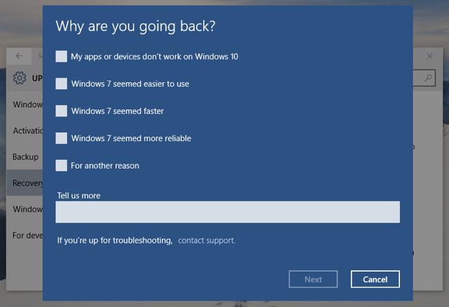 uninstallwindows10 2 - Impedir actualización a Windows 10