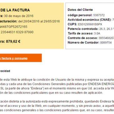 Falsa factura de Endesa distribuye ransomware