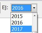 Cambio de año Gestión Comercial 2016