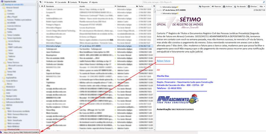Cuidado correos troyanos - Emails con enlaces o archivos sospechosos = Ransomware
