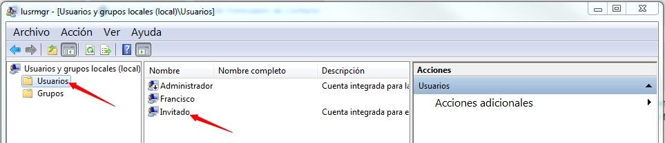 Cuentas Usuario2 - Windows 10 - No puedo desactivar el uso compartido con protección por contraseña SOLUCIÓN