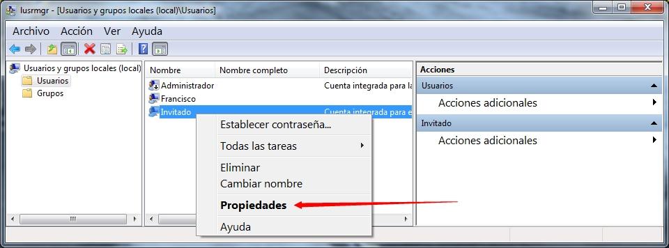 Cuentas Usuario3 - Windows 10 - No puedo desactivar el uso compartido con protección por contraseña SOLUCIÓN