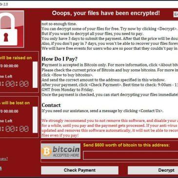Oleada de ransomware afecta a multitud de equipos – WannaCry