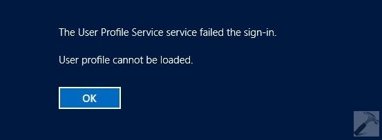 FIX The User Profile Service Failed The Sign in User Profile Cannot Be Loaded Windows 10 - Windows 10: Error en el Servicio de perfil de usuario al iniciar sesión. No se puede cargar el perfil de usuario.