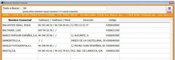 busqueda apliges Sql 600x205 - Gestión Comercial Facturación APLIGES SQL