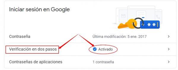 google 3 600x236 - Uso del envío de email desde Apliges_SQL usando cuentas gmail a partir de Febrero del 2021