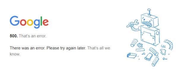 gmail screenshot 20201214 132420 600x236 - Incidencias en los servicios de Google 14/12/2020